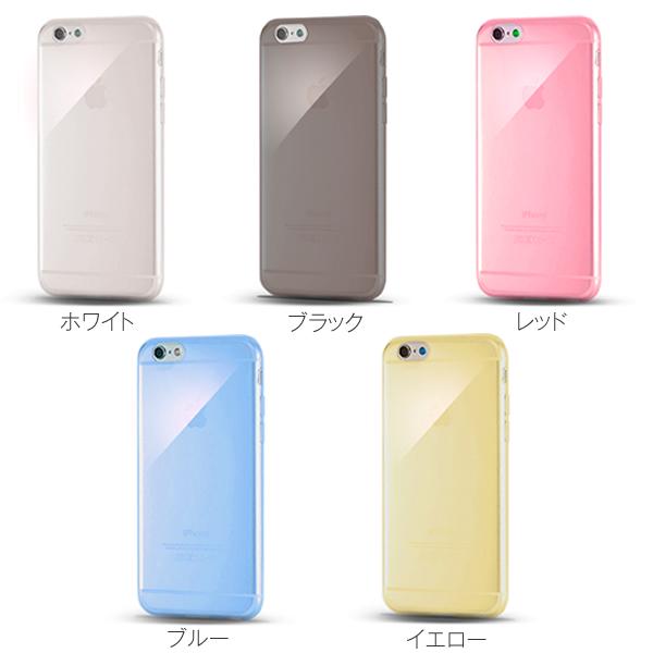 iPhone6(4.7)用極薄TPUクリアケース