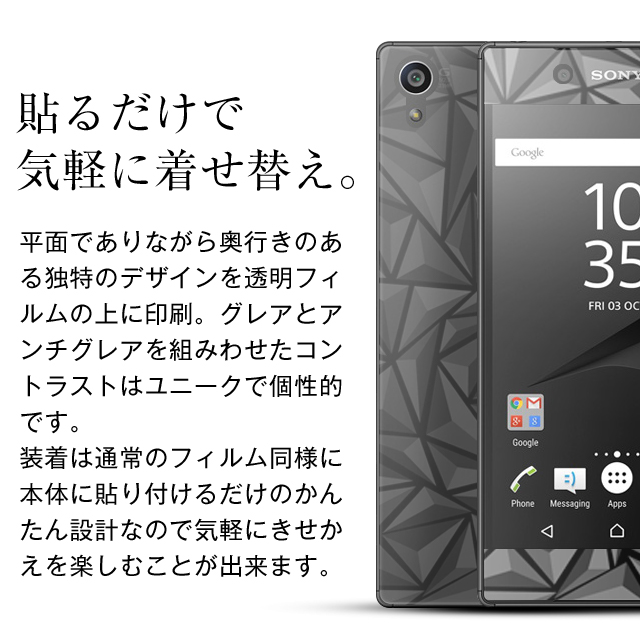 Xperia 3D 液晶保護フィルム