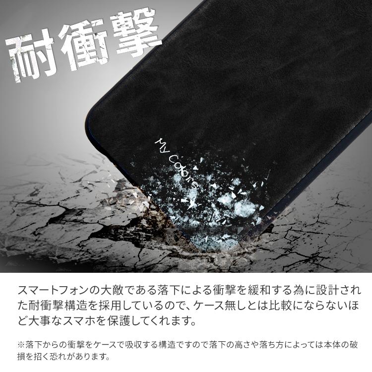 Xperia レザー調耐衝撃ケース