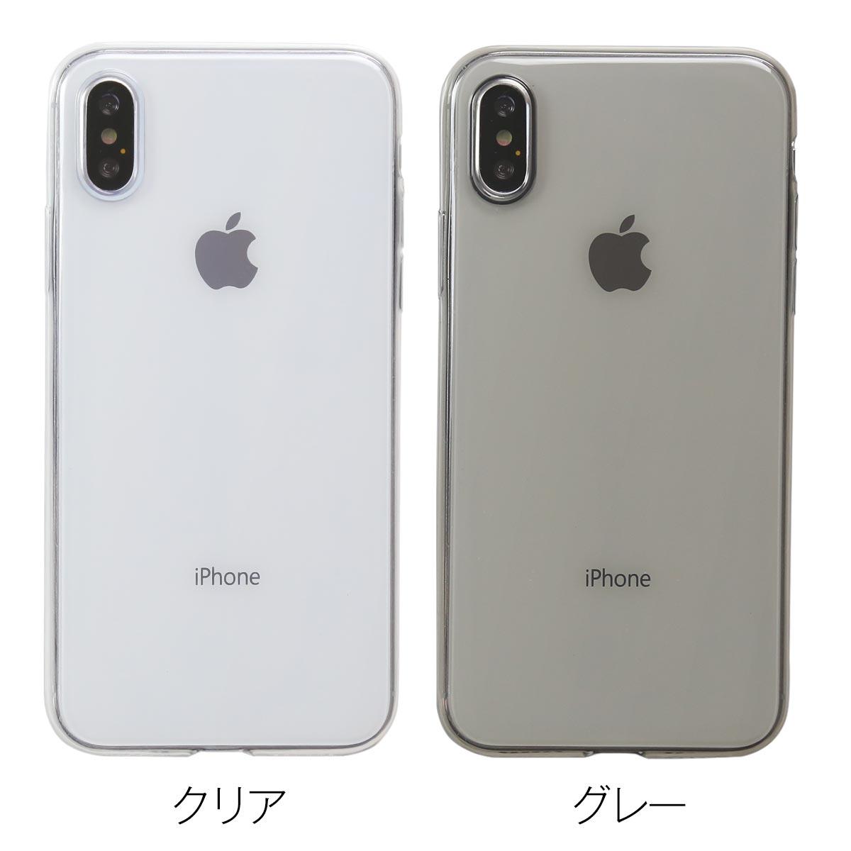 iPhoneX TPU クリアケース