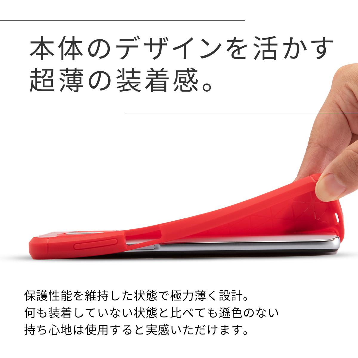 Redmi Note 9S カーボン調TPUケース