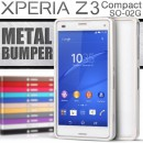Xperia Z3 Compact SO-02G スライド式メタルバンパー