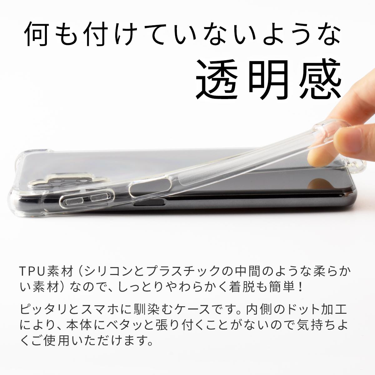 Galaxy A32 SCG08 耐衝撃TPUクリアケース