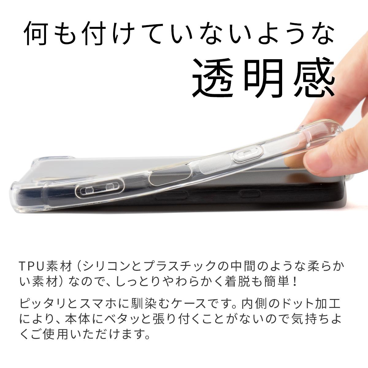 Xperia Ace II SO-41B 耐衝撃TPUクリアケース